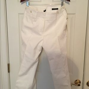 White wide leg trousers - new and never worn